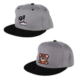 Estate bambino protezione del bambino del ragazzo dei capretti registrabile di baseball Caps ragazza dei ragazzi bambini dei cappelli di Snapback Hip-Hop del cappello di Sun Casquette