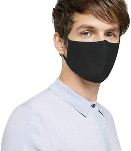 Outdoor Cotton Mouth Face Mask Black Fashion Cycling Wearing Mask Durable Mouth Cover Mask Free Shipping