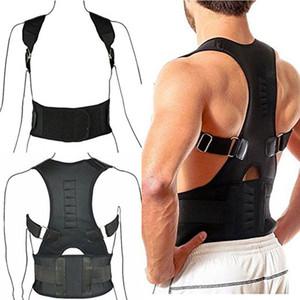 Vente chaude Réglable Posture Support Brace Magnet Therapy Therapy Bretelles Arrière Cou Correcteur Colonne Vertébrale Support Brace DC88