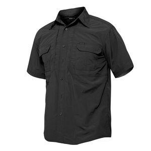 dos homens Quick Dry shirt impermeável ao ar livre Caminhadas shirt tático de manga curta camisa de caça Masculino de combate camisas