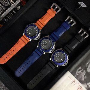 PAM00799 Montres en cuir pour homme automatique Montres-bracelets 47mm PAM799