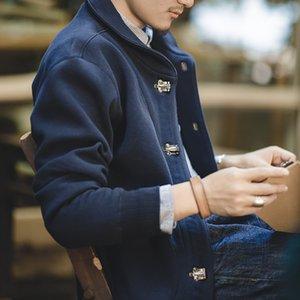 Matton tooling American N-1 deck jacket season amecaji Coat tool Jacket tool warm solid color coat men