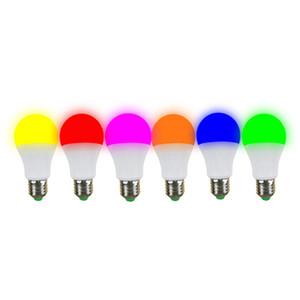 7W LED couleur Ampoule E27 5W Ampoule LED 15W maison à vis LED Ampoules 9W intérieur Décorations d'économie d'énergie lampe ampoule 12W