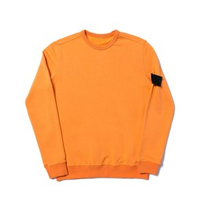 19SS ras du cou à manches longues Sweat-shirt à capuche T0PST0NE solide simple Sweat-shirt Pull mode sport M-2XL 4 couleurs