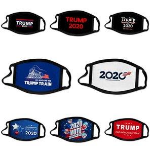 Rápido frete grátis 50 1pcs 3 Camada Máscaras Earloops casa confortável Boca Ski Máscara Designer Trump 7.339.044 Em armazém # 524
