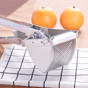 Spoons Soup Ladle+Stainless Steel Commercial Potato Ricer Lemon Juice Fruit Puree Masher Handheld Squeezers Reamers