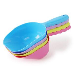 Pet Cleaning Shovel Monochromatic Solid Cat Sand Shovel Dog Food Spoon 23CM Cat Sand Shovel