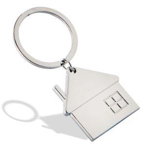 Yaratıcı Ev Anahtarlık Metal Araba Anahtarlık Unisex Taşınabilir Anahtarlık Açık Mini Anahtarlık Sırt Çantası Çanta kolye Hediye Kişiselleştirilebilir DBC VT1549