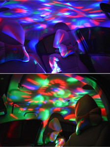 USB Mini Disco Light, Party Lights Sound Activied, Halloween DJ DISHO Stage Lights-Multi Colors LED автомобильный атмосферный свет,