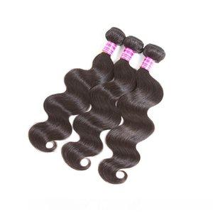 Brazilian Virgin Hair Weaves Straight Body Wave Human Hair Bundles Indian Malaysian Peruvian Wet and Wavy Human Hair Extensions With Bundle