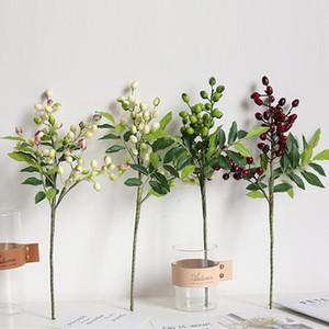 Nouvellement Simulation artificielle Berry Bouquet de fleurs usine Accueil fête de mariage Décoration