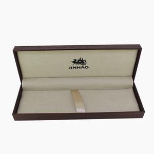 Jinhao scatola regalo in legno per Stilografica / Penna a sfera / accessori per la casa Roller scuro Case Penna Brown Pencil Box scuola