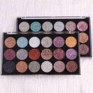 MISS ROSE 18 colores Pearlescent Eye Shadow Palette Glitter Powder Eyeshadow Natural Warm Colors Pigment Kits TSLM2