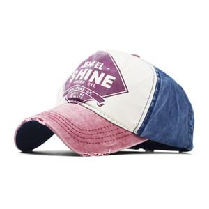 2020 ilkbahar ve yaz yeni Koreli beyzbol kapaklar erkekler ve kadınlar kaplanmış pamuk güneş şapkası parlaklık açık şapka