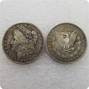 prata antigo EUA (1878-1904) -P Morgan Dólar MOEDA COPY moedas comemorativas moedas-réplica medalha moedas colecionáveis