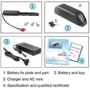 EUA UE Nenhum Imposto 36 v 20.4Ah / 48 v 17Ah Bateria Ebike com LG Celular 48 v Hailong Elétrica bicicleta Da Bateria pour Bafang BBS01 BBS02