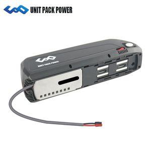 Navire des Etats-Unis Hailong Batterie 48V 16Ah Batterie de vélo électrique avec Panasonic Cellule Batterie E-vélo pour 750W 1000W Moteur
