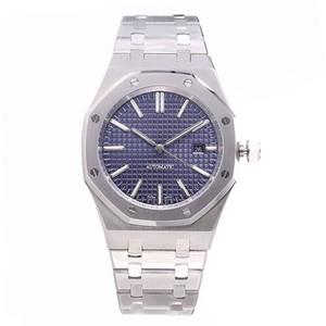 montre de luxo mens automáticos assistir relógios de ouro 42 milímetros de aço inoxidável luminosa relógio de safira orologio di lusso 5ATM relógio à prova d'água