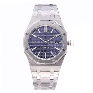 montre de luxe Automatik Herren Golduhren 42mm Edelstahl leuchtende Armbanduhr Saphir orologio di Lusso 5 ATM wasserdichte Uhr sehen