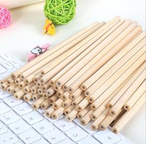 100 Простой деревянный карандаш HB Ядро карандаш Экологически чистые нетоксичные гексагональной карандаш Офис школа Канцелярские товары, канцтовары T200107
