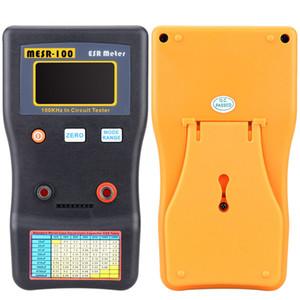 Freeshipping ESR Capacitance Meter of MESR-100 Ohm Meter Professional Measuring Capacitance Resistance Capacitor Circuit Tester