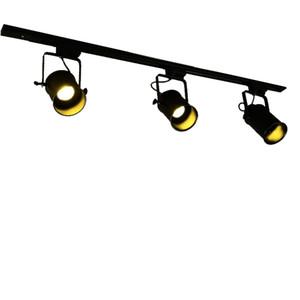 Arts lampada della pista moderno American Bar industriale negozio di abbigliamento faretti Lampada da soffitto sfondo minimalista retro spazio luce