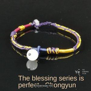 Handarbeit Perfekte geflochtenen Seil Armband original Jahr Hand Seil einfache nationalen Stil kleines Geschenk für Freundinnen