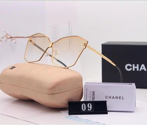 2019 Latest hot fashion men's and women's wear designer sunglasses 0937 square metal plate combination frame high quality UV400 with frame