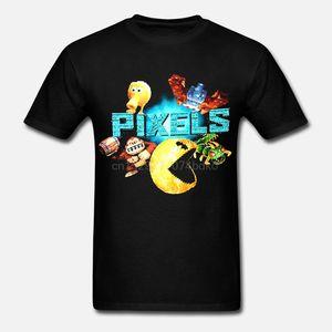 Piksel Film Tişört (M) Qbert Pac Man Donkey Kong Kırkayak Arcade Gamer Yeni!