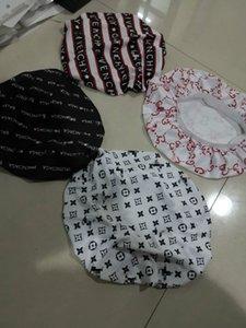 2020 Shower cap Durag Muslim Women sun hat Stretch Sleep Hat Silky designer hats Caps Cancer Headwear Head Wrap