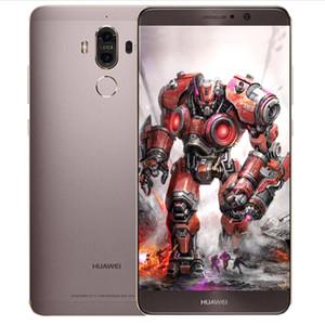 Оригинальный Huawei Mate 9 4G LTE сотовый телефон 6GB ОЗУ 128 Гб ПЗУ 960 Кирин окта Ядро Android 5.9 дюймов 20.0MP отпечатков пальцев ID NFC Смарт мобильный телефон
