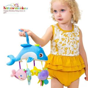 animal transport TOLOLO lit confort de Bell en peluche crèche Pendentif lit bébé Toy cloche bébé crèche pendentif jouet éducatif