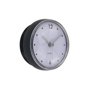 Pequeño creativo reloj de pared de diseño simple moderna cocina impermeable reloj despertador baño de estar Relogio Parede reloj Decoración 60ZB