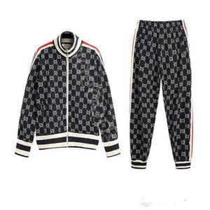 Gucci suit 2019 sportswear camisola terno dos esportes da forma de moda masculina atacado outono atender revestimento do hoodie Medusa dos homens jaqueta sportswear