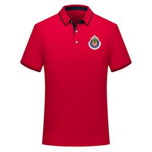 Versão tailandesa de qualidade 2019/20 MÉXICO Club Chivas de Guadalajara camisa pólo de futebol camisa de futebol jerseys men19 / 20 Chivas homens de futebol polo S