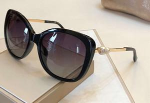 5339 Pearl Polarized Sunglasses Nero / Oro Telaio donne Occhiali da sole Sonnenbrille Occhiali da sole occhiali da sole occhiali nuovo con la scatola