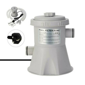 Electric Swimming Pool Filter Pump Clean Above Ground Pools Cleaning Tools NEW