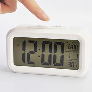 5 Cores Relógio Inteligente Inteligente Noite Light Sensor preguiçoso Snooze Relógio Mute eletrônico Clocks criativa Digital Clocks presentes Home BH2179 CY