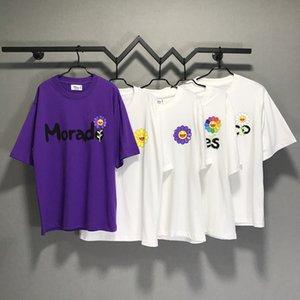 Sun-Blume J Balvin Takashi Murakami T-Shirt Männer, die Frauen-T-Shirts in Übergröße aus 100% Baumwolle T-Shirt Männer