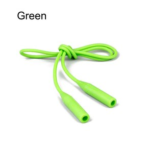 55cm Silicone Glasses Chain Strap Cable Holder Neck Lanyard for Reading Glasses Keeper TT@88