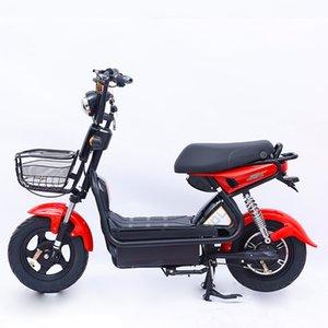 Arrefecer Factory Direct S Adulto carro elétrico 9 Tubo de 16 polegadas Standard Electric Bicycle Duplo bateria de carro