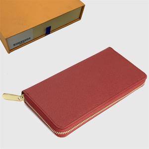 Monedero carteras para mujer Monedero Zippy Monedero de señora Long carteras doblez titular de la tarjeta para pasaporte mujeres monederos bolsa de la llave 43-76 Doblado