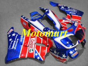 Motorcycle Fairing kit for HONDA CBR900RR 893 96 97 CBR 900RR 1996 1997 ABS Red blue Fairings set+gifts HB04