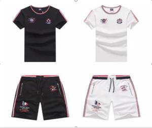 Fashion Men's designer summer sports suit T-shirt and shorts jogging 3D printing suit Medusa men's casual suit 6565411