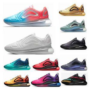 720 bsidian Volt tênis de corrida das mulheres dos homens do ar Triplo Preto Branco 72C Speckle Mar Pacote de Páscoa formadores max Esportes sneakers 36-45