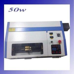 2019 New JKJG 110 / 220V 50W 200 * 300m Mini CO2 Laser Engraving Machine Cutting 3020 Laser with USB Sport