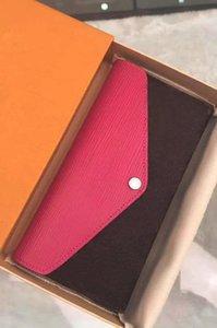 Die neuen Frauen lederne Mappe Damen 2019 Mappenmünzenbeutel mit Staubbeutel-Box kann Karte sein dhm1998 Handtasche Art und Weise Wasser rot classic