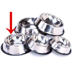 Chien Bol en acier inoxydable Gamelle pour l'alimentation et Abreuvoir pour les chiens et les chats autres animaux domestiques extérieurs pour la maison