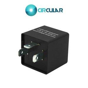 Interruttore CF13KT 3 PIN LED Flasher Relay 12.8V 0.1W-150W elettronico per moto indicatori di direzione lampeggiatore universale regolabile