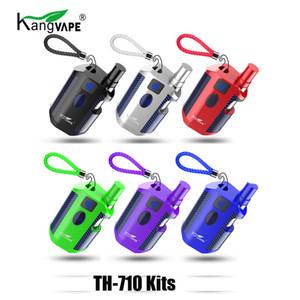 Otantik Kangvape TH710 Başlangıç Kiti 650 mAh Ön Isıtma Pil TH-710 Vape Kutusu Mod 0.5 ml Kalın Yağ Için CE3 K1 Kartuş Atomizer 100% Orijinal